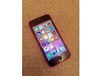 IPhone 5c pink 32gb on 02