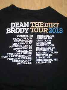 Dean Brody Concert T-Shirt 2013 The Dirt Tour London Ontario image 4
