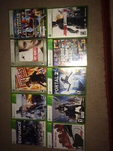 Selling all 10 games for 55$!!