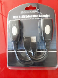USB Extension Cable Over Cat5e RJ45 Extender UNOPENED