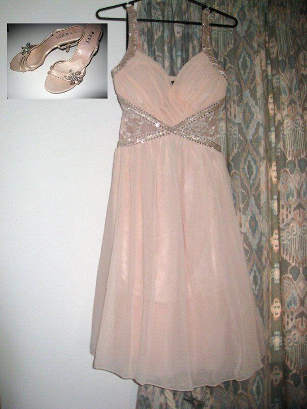 GORGEOUS!!! Brand New \'Little Mistress\' Nude Wedding Ball Gown Dress ...