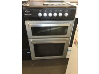 Flavel black and silver Electric Cooker 60cm wide