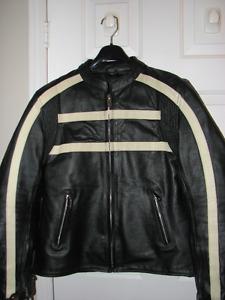 Lady's motorcycle jacket - Manteau de moto pour femme