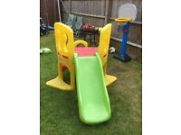 Little Tikes hide and seek climber with slide