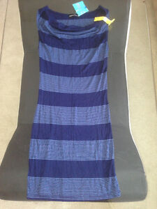 NWT Blue Striped Dress * Size Small * Edmonton Edmonton Area image 2