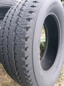 SET OF 4 LT285/60/R20 FIRESTONE TRANSFORCE at