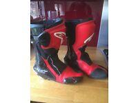 Alpinestars SMX motorcycle boots