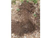 Free soil/rubble