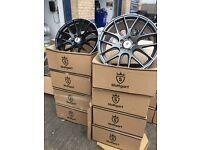 "20"" BMW vw Volkswagen alloy wheels alloys 5x120 transporter t5 caravell"