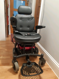 Shoprider compact powerchair with new battery