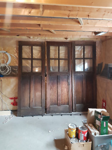 Antique Carriage Door