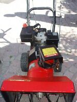 2 SNOWBLOWER FOR SALE!!! BOTH GAS POWERED ENGINE!