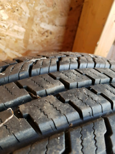 195 /70/14 winter tires. Like new