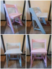 Garden wood chairs