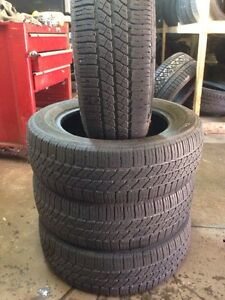 4 continental 195/60/15 all season 80% tread Kitchener / Waterloo Kitchener Area image 1