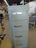 FIRE PROOF FILES , USED, LATERALS AND VERTICALS, EXCELLENT COND