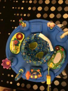 Sauteuse ( soucoupe ) pour bébé
