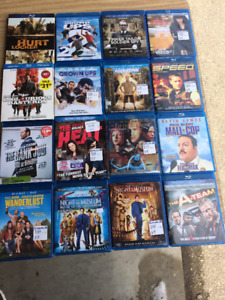 VHS Movie Bundle and Various Single DVDs/Blu-rays & Sets