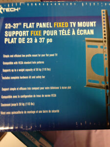 New in Box Flat screen TV FIXED mount  up to 37 in TVs