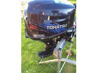 2006 tohatsu 9.8hp fourstroke
