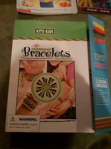 Bracelet making book and kit