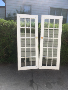 "French Doors 32""x80"""