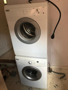 Whirlpool 24 inch washer and dryer