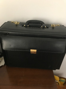 Vintage Samsonite Top Opening File Case Briefcase Attache Unused