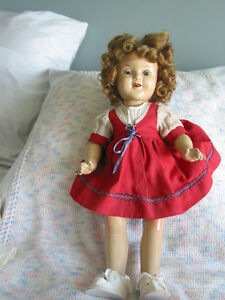 "Vintage 22"" Reliable Doll Shirley Temple Composition 1935"