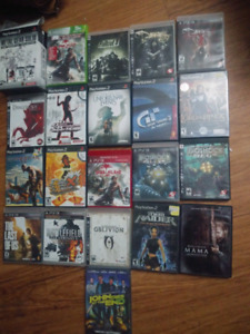 PS3, PS2, XBOX VIDEO GAMES FOR SALE