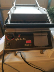 Commercial Panini Grill.