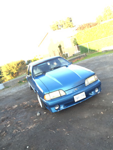 1988 Ford Mustang GT Hatchback