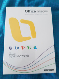 Microsoft Office 2008 for Mac Special Media Edition for Mac