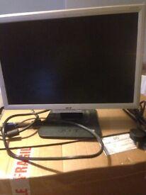 Free Lenovo computer monitor