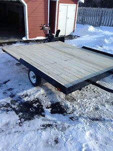 Bouble Ski-Doo Trailer For Sale