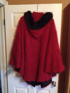 Cape - Red Mohair with Hood Peterborough Peterborough Area image 2