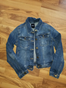 Girls Size 10-11 Gap Denim Coat