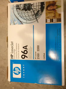 HP LaserJet 96A Print Cartridge: 2 for the price of 1