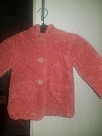 Baby girls woolly coat brand new