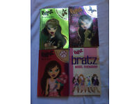 Set of 4 Bratz Books