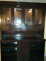 REVISED PRICE  buffet and hutch