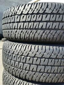 Michelin ltx At2 lt225 75 r16 pair