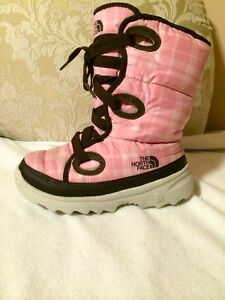 THE NORTH FACE girls winter boots size 13 youth