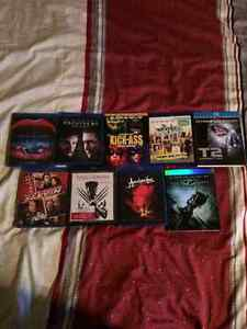 Selling blu rays $5 each all in perfect condition