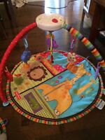 Luv u zoo pieces! Swing, high chair and playmat!