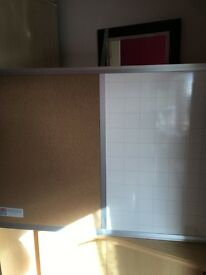 Noticeboard-whiteboard