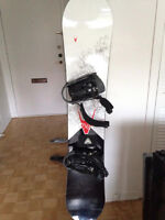 Snowboard Firefly Riot 163cm + fixations originales Firefly