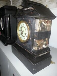 French slate/granite mantle clock - NEW PRICE London Ontario image 2