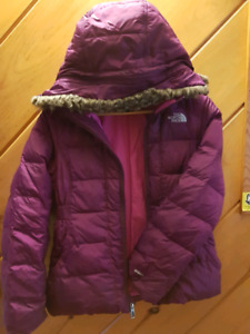 North face down jacket - youth girl