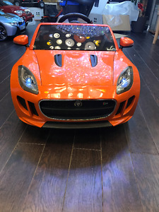 KIDS ELECTRIC RIDE ON JAGUAR F TYPE CALL 416.999.8141